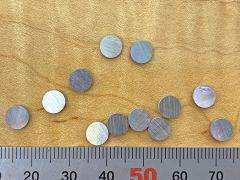 Dot Inlays - Set of 12 - Black Pearl 6mm