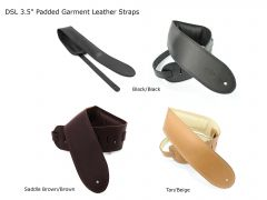 DSL Padded Leather Straps