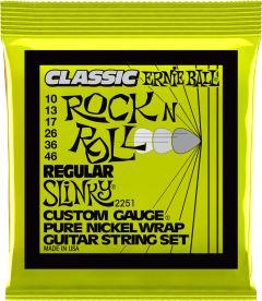 Ernie Ball 2251 Electric Guitar Strings 10-46 Regular Slinky