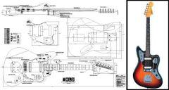 Jaguar-Style Electric Guitar Plan