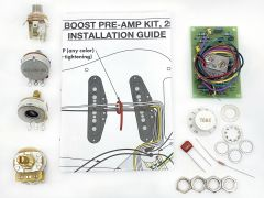 Fender Wiring Kit for Stratocaster - Eric Clapton 25db Mid Boost