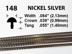 Nickel Silver Fretwire #148 - Standard Medium Gauge - 1.8 metres