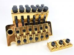 Gotoh GE-1996TG Floyd Rose Tremolo & Nut - 40mm Block - Gold