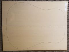 German Spruce Acoustic Guitar Top #25 - AAAA Grade