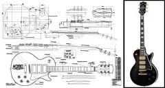 Les Paul Black Beauty Electric Guitar Plan