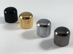 Tele Style Dome Knobs for Split Shaft Pots