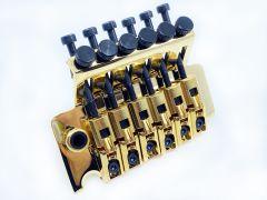Gotoh GE-1996TG Floyd Rose Tremolo & Nut - 33mm Block - Gold