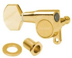 Gotoh Left-Handed SG360-07G Tuners 6-in-Line Gold