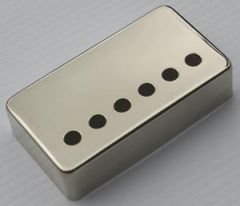 Allparts PC-0300-001 Humbucker Pickup Covers - Set of 2 - Nickel