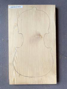 Huon Pine 1-Piece Violin Top #1