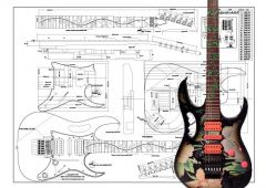 Ibanez JEM Electric Guitar Plan