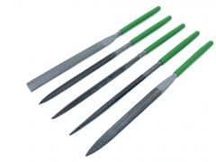 Carbon Steel Files - Set of 5