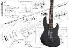 5-String Jazz-Style Bass Plan