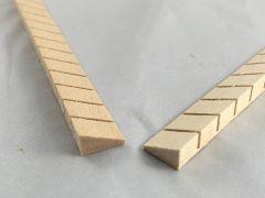 Basswood Kerfed Linings Set - Small Triangle