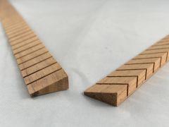 Mahogany Kerfed Linings Set - Triangular Profile