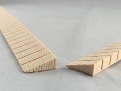 Spruce Kerfed Linings Set - Triangular Profile