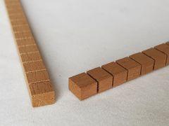 Mahogany Kerfed Linings Set - Small Rectangle