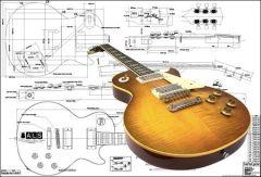 '59 Les Paul Style Hardware & Electronics Kit