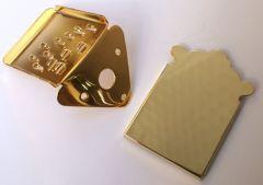Allparts MT-0987-002 Mandolin Tailpiece - Gold