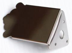Allparts MT-0987-001 Mandolin Tailpiece - Nickel