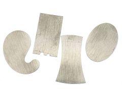 Miniture Scrapers - 4 piece set