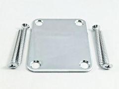 Gotoh NBS-3C Neck Plate with Screws - Chrome