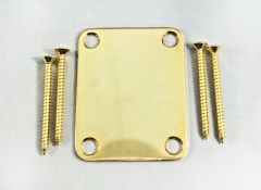 Gotoh NBS-3G Neck Plate with Screws - Gold