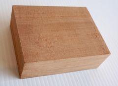 Neck Block Blank - Queensland Maple