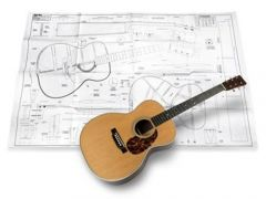 Martin OM Acoustic Guitar Plan