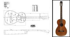 Martin Parlour Guitar Plan