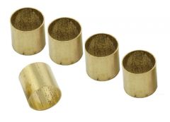"Allparts EP-0220-008 Pot Converter Sleeves 1/4"" to 6mm - Set of 5"