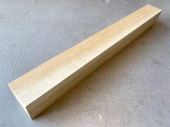 Queensland Maple Glue-In Neck Blank #509 - 1st Grade