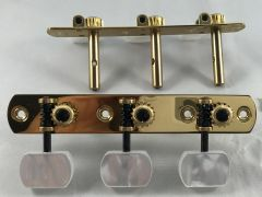 Rubner 100-N-S Slotted-Head Acoustic Guitar Tuners