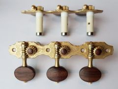 Rubner S140-PA Classical Guitar Tuners with Ball-Bearings & Rosewood Buttons