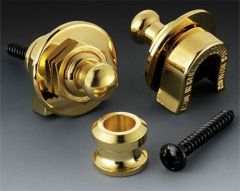Schaller Straplocks - Set of 2 Full Assembly - Gold