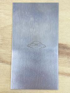 Cabinet Scraper - Single Rectangular Profile