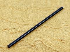 Side Dot Inlay Stock - Black Plastic 2mm