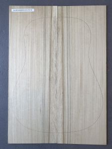 Australian Silver Quandong Acoustic Guitar Top #102 - First Grade