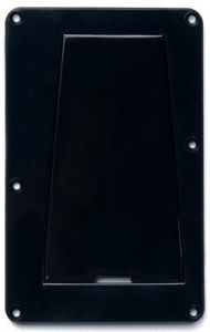 Allparts PG-0548-023 Strat Style Access Rear Cover - Black