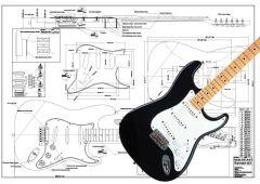 Stratocaster-Style Hardware & Electronics Kit