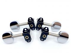 Gotoh STS31-SB5C Stealth Model Ukulele Tuners 2+2 Chrome