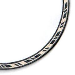 Ukulele Mosaic Rosette #4 - Tenor/Baritone Size