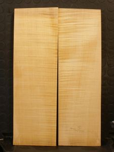 German Maple Violin/Viola/Mandolin Back #1 - AAA Grade