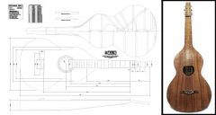 Weissenborn Style One Lap Slide Guitar Plan