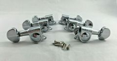 Wilkinson Guitar Tuners 3+3 Chrome