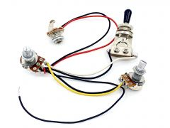 Wiring Harness for PRS, ESP, LTD & Jackson with Vol. Tone & Toggle