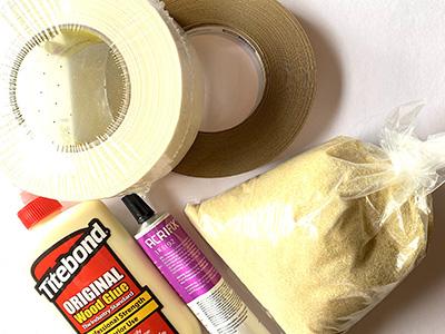 Glue & Tape-