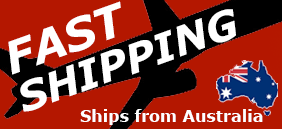 Fast Shipping from Australia